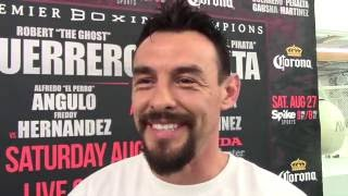 ROBERT GUERRERO ON OPPONENT DAVID PERALTA, WANTS GARCIA OR PACQUIAO & OPEN TO ERROL SPENCE FIGHT
