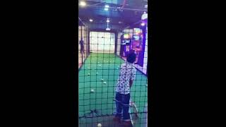 Playing Cricket in Ashima Mall Bhopal