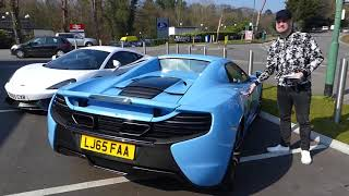 !! New Video McLaren 570s VS Ferrari Spider 650s 2018 !!