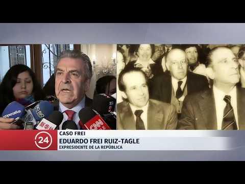 """Eduardo Frei Ruiz-Tagle: """"Mi padre fue asesinado"""""""
