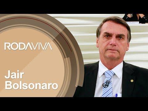 Roda Viva   Jair Bolsonaro   30/07/2018