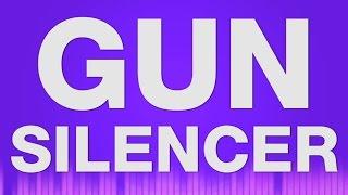 Gun with Silencer - SOUND EFFECT - Hand Gun Schalldämpfer Schuss SOUNDS