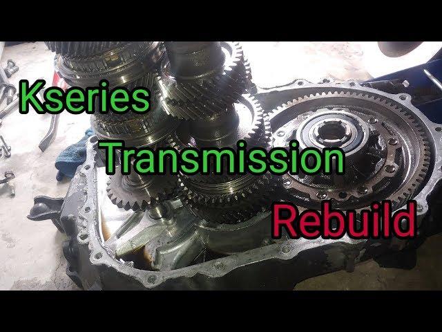 how to rebuild mercedes transmission