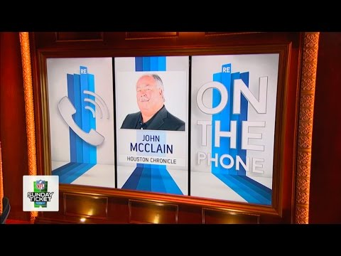 John McClain of The Houston Chronicle Talks Houston Texans, Ken Stabler Entering HOF & More - 8/2/16