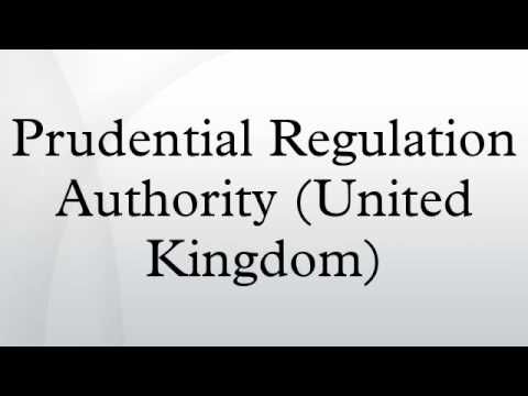 Prudential Regulation Authority (United Kingdom)