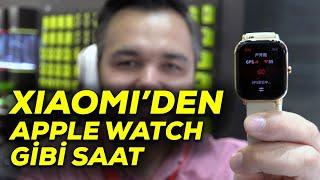 Xiaomi'den Apple Watch tasarımlı akıllı saat | Amazfit GTS ön inceleme