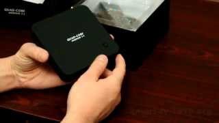 Q8 Smart Tv приставка на Андроид  4.4. видео обзор(Обзор смарт тв приставки Q8 на Android 4.4. с мощным 4-х ядерным процессором RK3288, 2Gb ОЗУ, и с 16-ти ядерной видеокартой..., 2014-12-14T13:25:06.000Z)