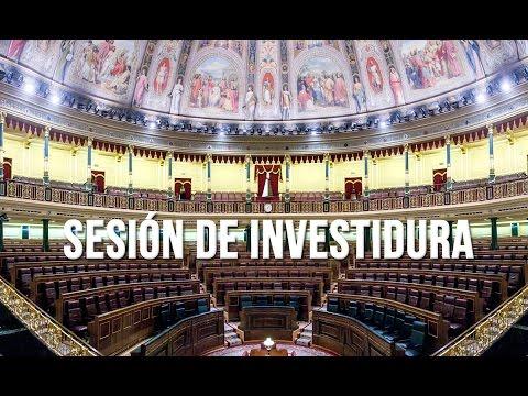 Sesión de Investidura, 27 de octubre