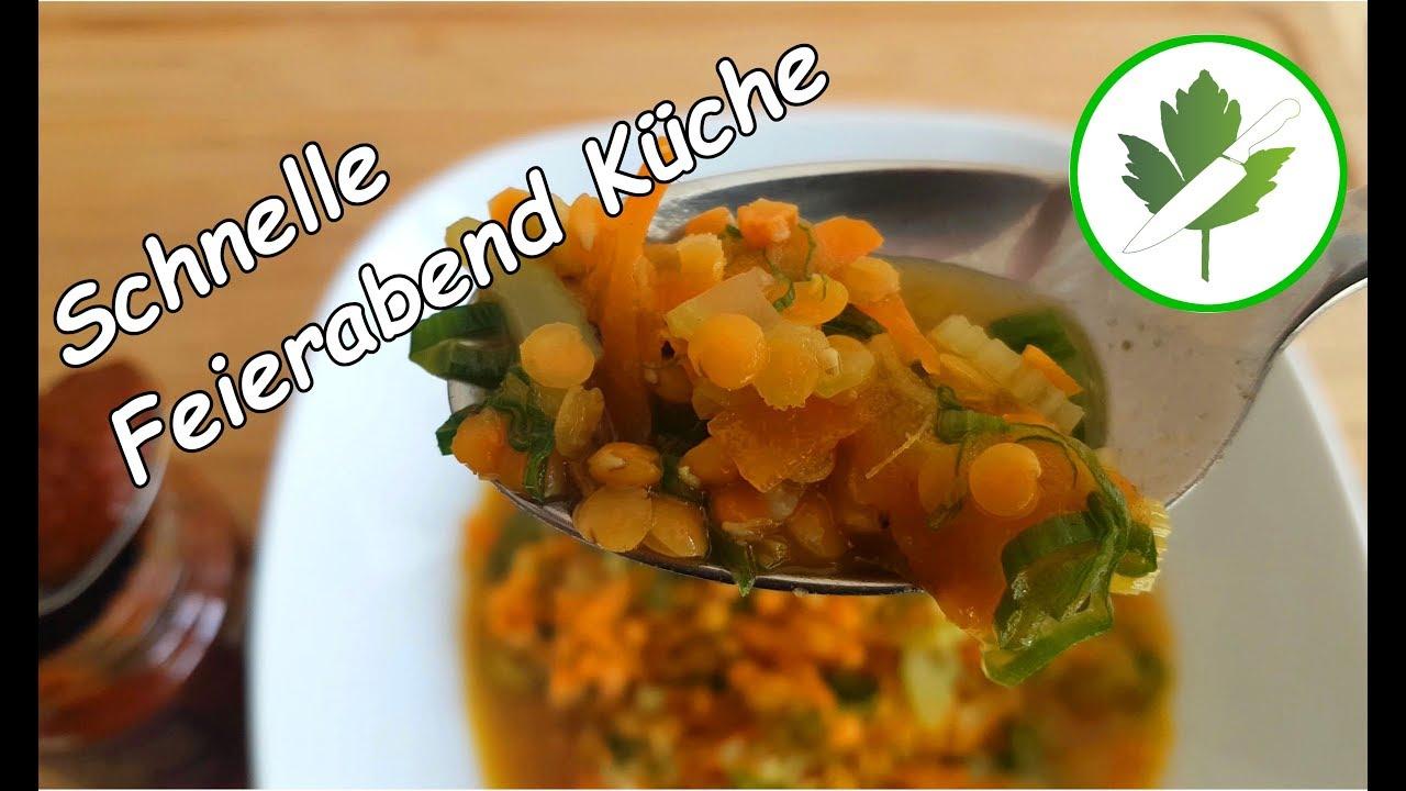 15 Minuten Küche - Asiatischer Linseneintopf / schnelles Rezept #vegan