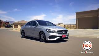 Mercedes-Benz of El Paso May Lease Specials The CLA or GLA for $300/mo [HD]