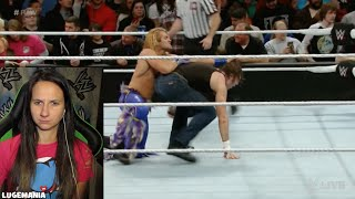 WWE Raw 11/23/15 Ambrose Ziggler vs KO Tyler Breeze