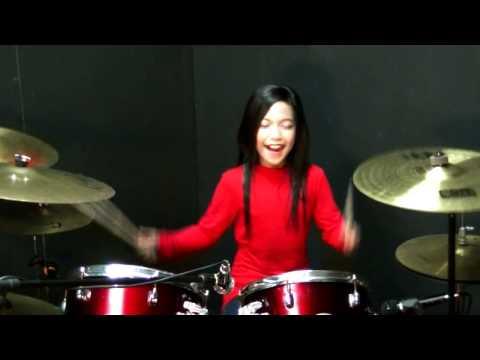 Taja Ukai Aku - Rockschool - Drum Cover by Nur Amira Syahira