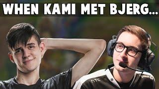 When Kami Met Bjergsen In Soloqueue... | Funny LoL Series #112
