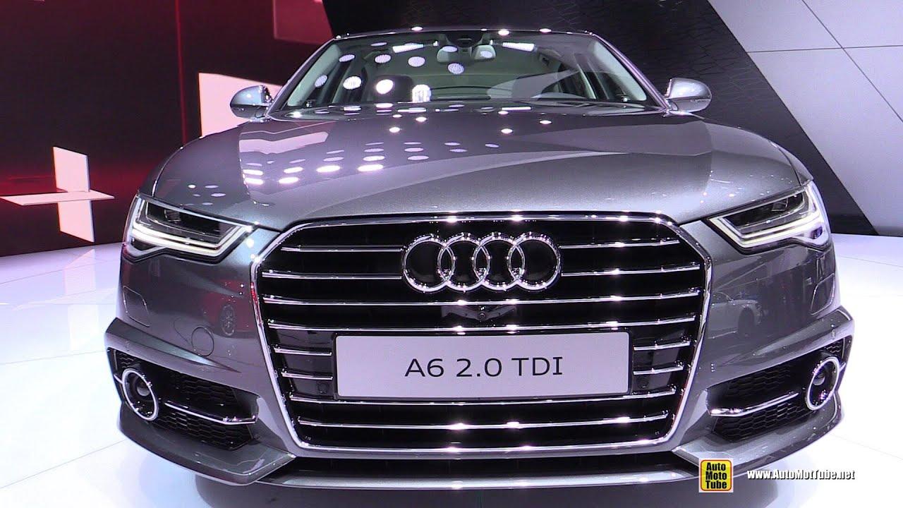 Audi A TDI Exterior Walkaround Debut At Paris - Audi car 2015