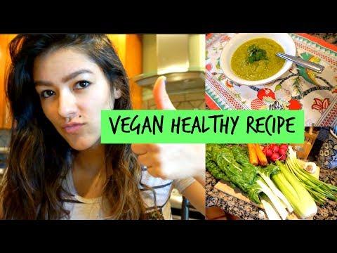 EASY HEALTHY VEGAN RECIPE | BROCCOLI SOUP !! :D