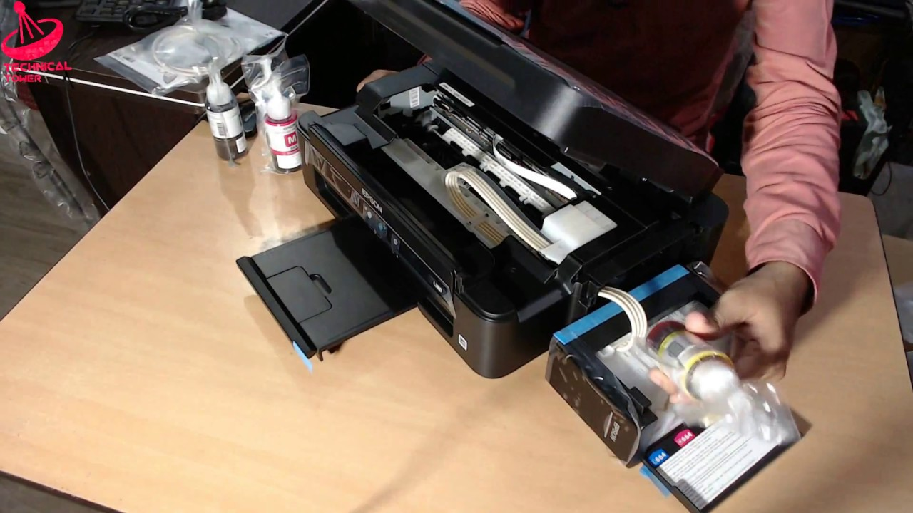 Epson L380 all in one printer unboxing, Installation, For Small Business  And Home Use