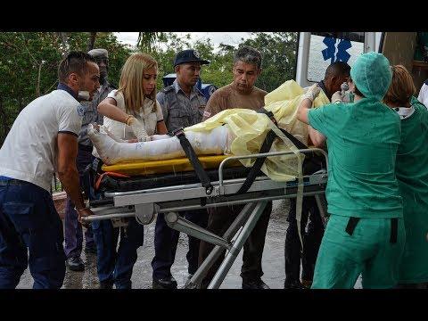 Three passengers surviveCuban plane crash