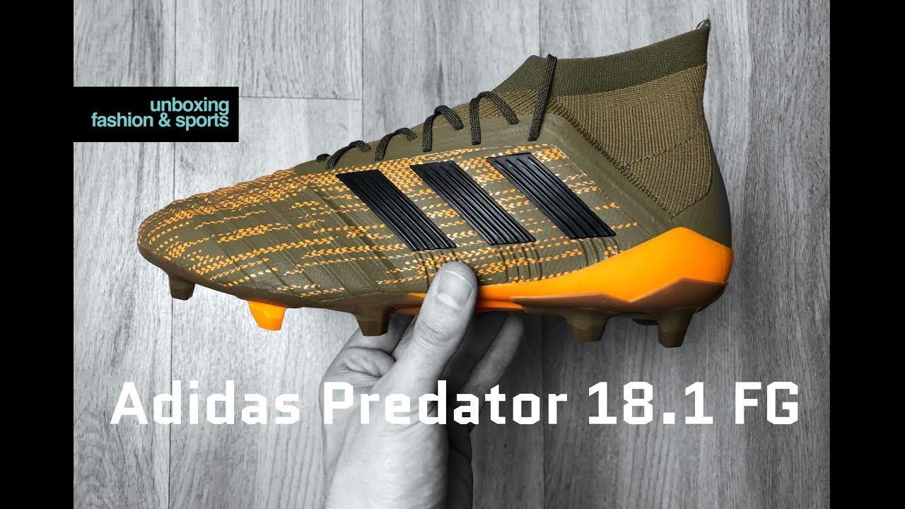 buy online 86143 693ea Adidas Predator 18.1 FG Lone Hunter Pack  UNBOXING  ON FEET  football  boots  2018  4K