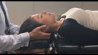 Satisfying Spinal Scrunching ~ Cracks & Relax ASMR Neck Pain Relief from Full Spine Chiropractic.