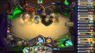 Hearthstone: Maexxna (heroic Mode) - Budget Bounce Control Mage