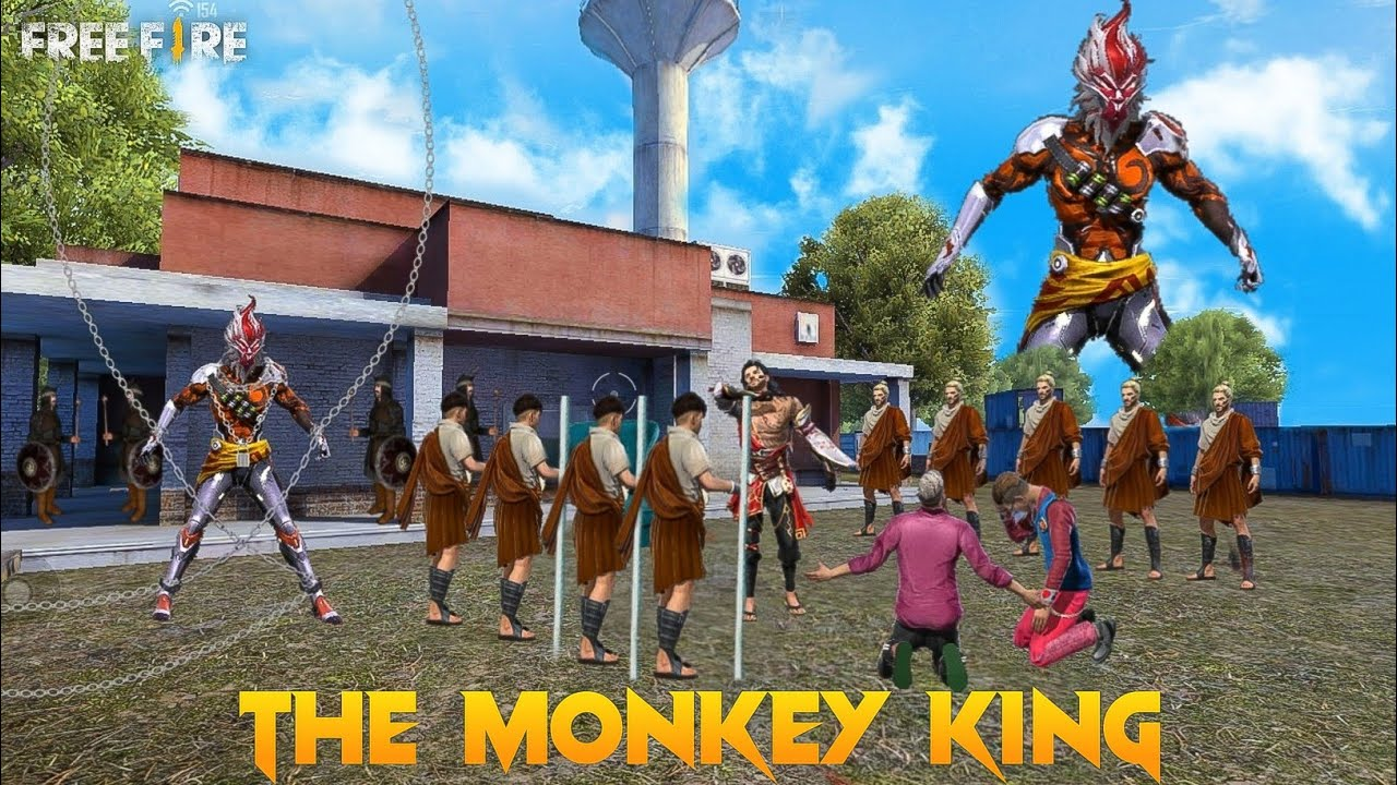 The Monkey King 🐒 [ अनोखा जानवर ] Free fire Story in Hindi || Free Fire Story