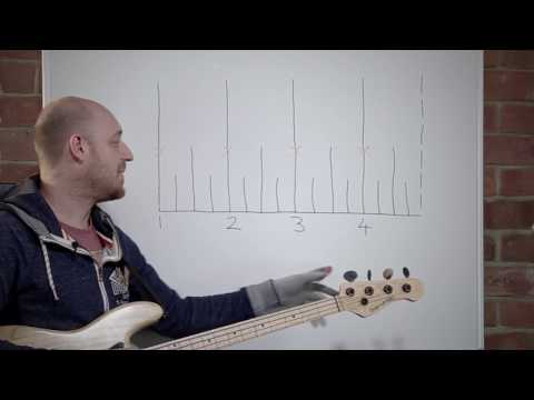 "The ""Superstition"" Bass Line and Mastering Note Length /// Scott's Bass Lessons"