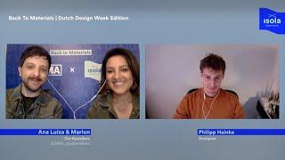 Back To Materials | Dutch Design Week Edition w/ Philipp Hainke