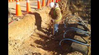 Harnett County Emergency Water line Job movie