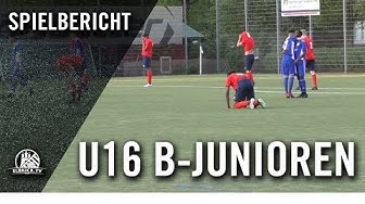 USC Paloma - FC Eintracht Norderstedt (U16-Jugendpokal, Achtelfinale)