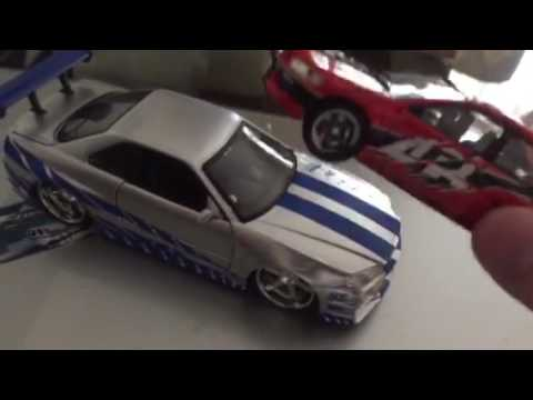 Jada toys 2 Fast 2 Furious Nissan Skyline 1/24 scale review