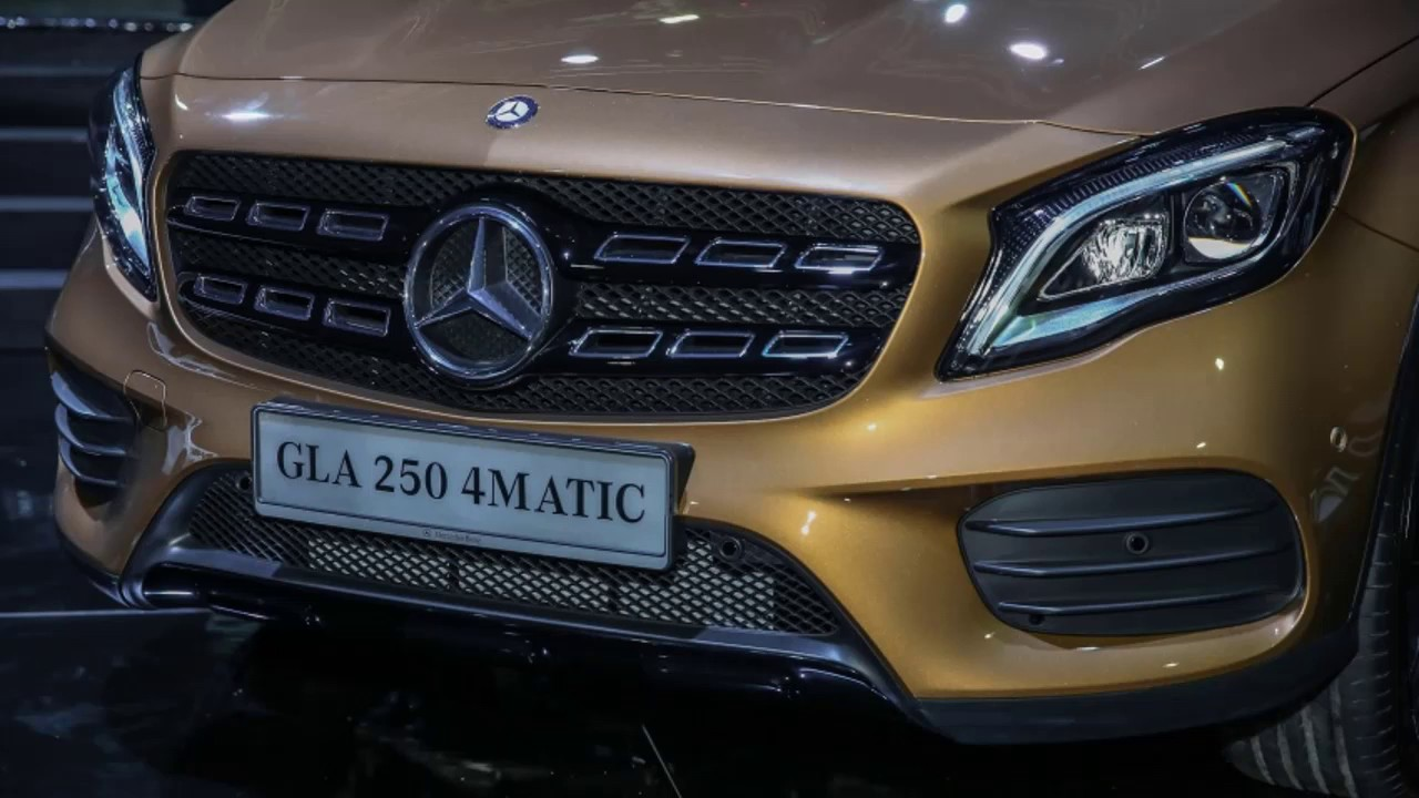 2017 mercedes benz gla 250 4matic amg line full exterior. Black Bedroom Furniture Sets. Home Design Ideas