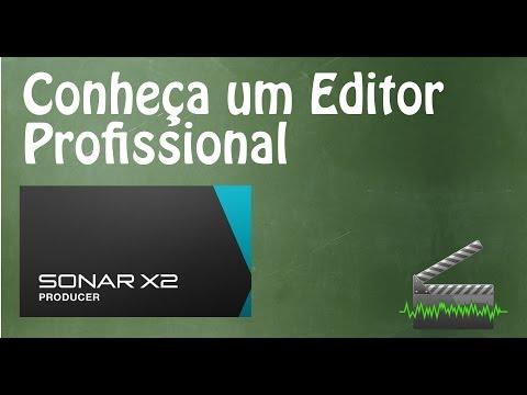 Conheça o Editor de Áudio Profissional - Sonar X2