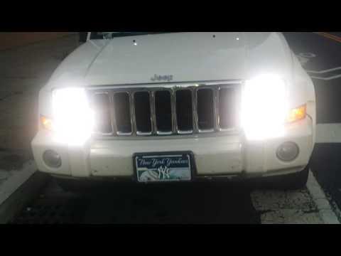 2006 Jeep Commander Flickering High Beam Headlights