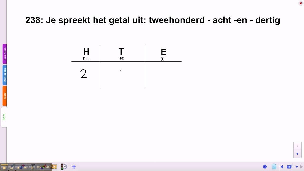 Genoeg groep 5 blok 3 les 3 splitsen van een getal tot 1000 - YouTube &QT52