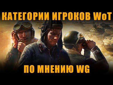 КАТЕГОРИИ ИГРОКОВ WoT ПО МНЕНИЮ WARGAMING - ОЧЕНЬ СТРАННО [ World of Tanks ]