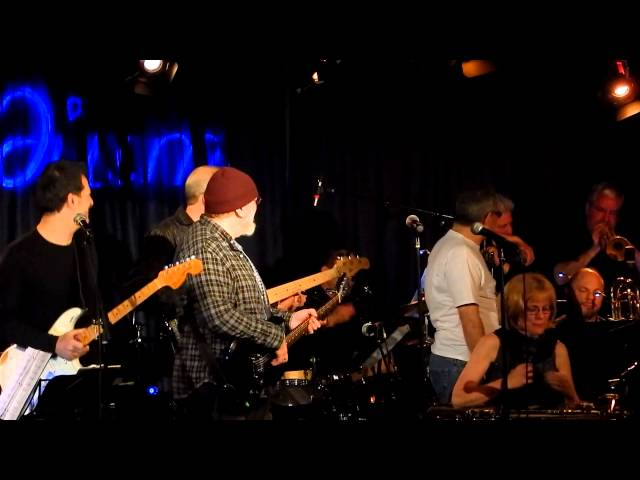 Ed Palermo Big Band 2014 01 18 Late Iridium NYC