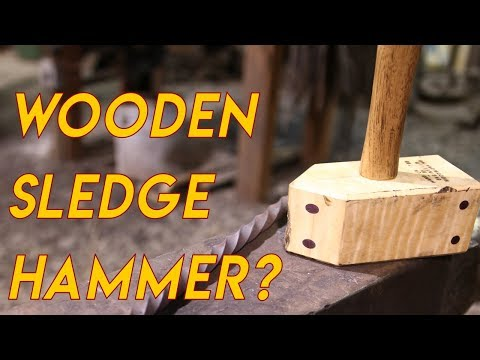 Technology of Hammers & My New Wooden Sledge