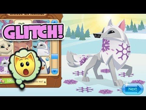 NEW ANIMAL JAM ARCTIC WOLF GLITCH!