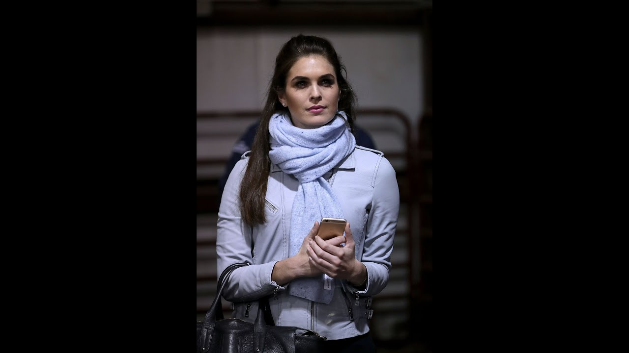Trump Told Hope Hicks She Was 'The Best Piece of Tail' Corey Lewandowski Would ...