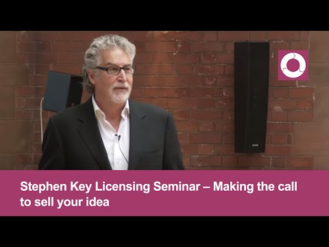 Stephen Key Licensing Seminar | Making the call to sell your product | Step #8