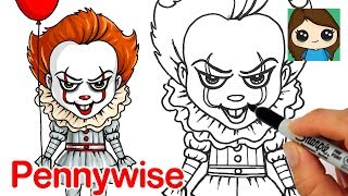 How to Draw Pennywise the Clown | It Movie 2017