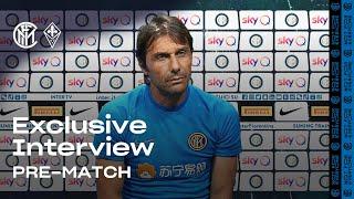 INTER vs FIORENTINA | Antonio Conte Inter TV Exclusive Pre-Match Interview 🎙⚫🔵 [SUB ENG]
