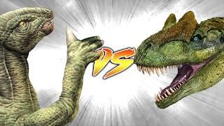 ALLOSAURUS VS IGUANADON [Who Would Win?]