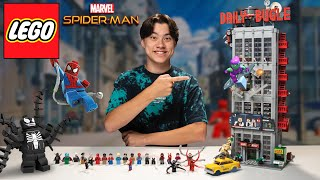 LEGO DAILY BUGLE!!! Best LEGO Marvel Spider-Man Set Ever Created! Set 76178 Speed Build & Review!