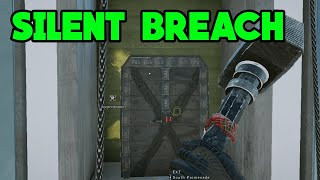 Pro Silent Breach Trick - Rainbow Six Siege Gameplay
