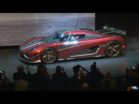The Koenigsegg Agera RS: World's Fastest Production Car