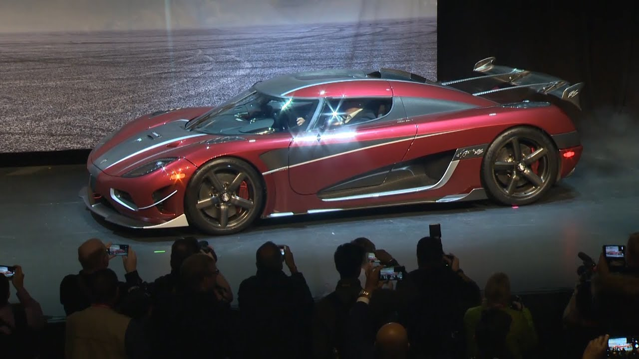 The Koenigsegg Agera Rs World S Fastest Production Car