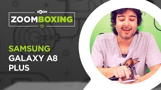 Samsung Galaxy A8+ - UNBOXING | ZOOMBOXING