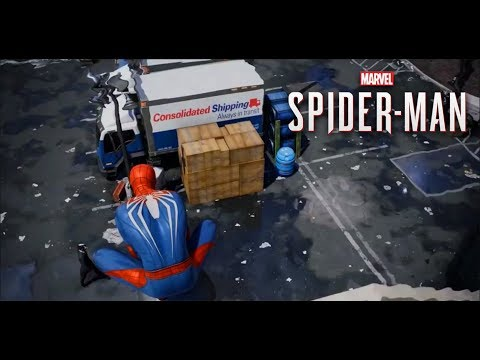 Marvel's Spider-Man Alpha Footage Combat (PS4)