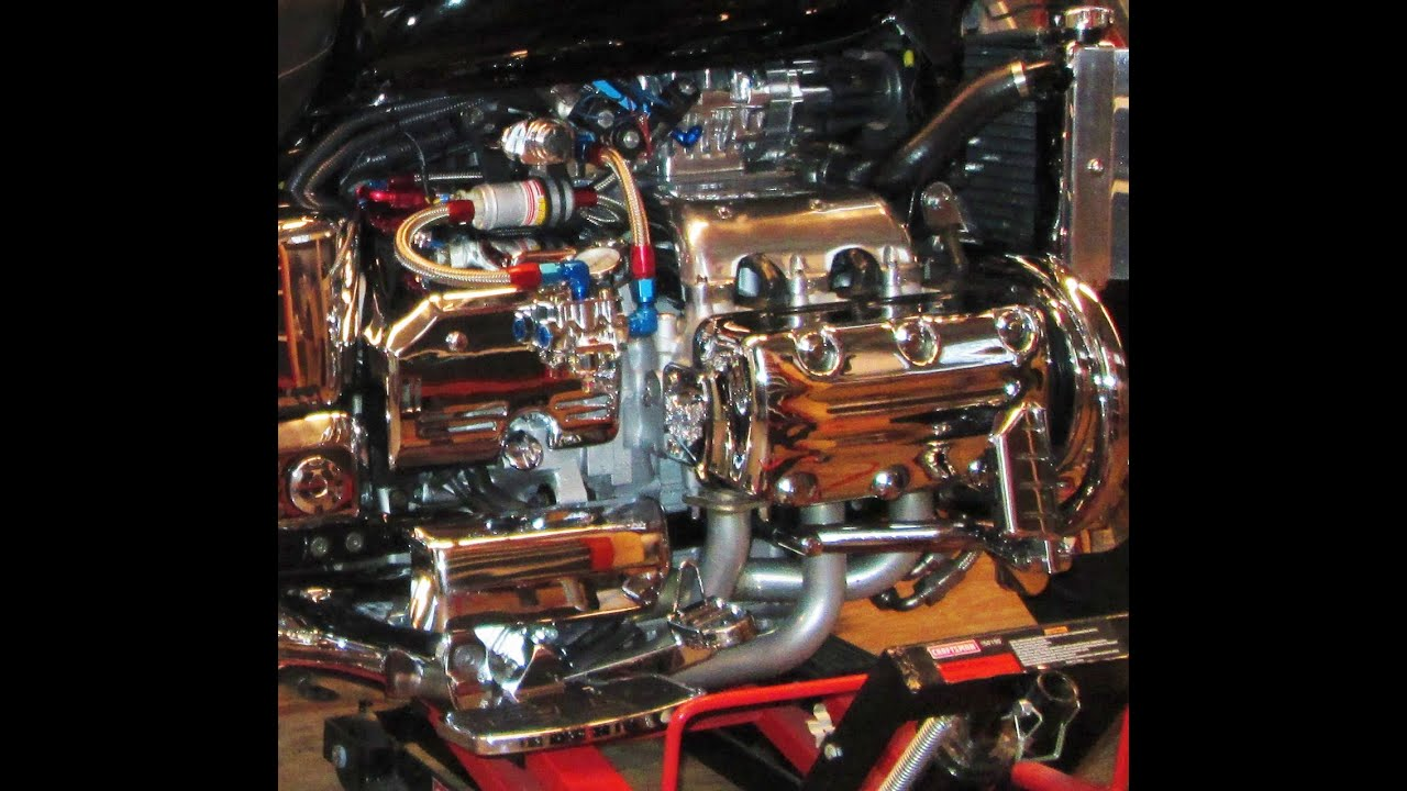 Honda Valkyrie Supercharged Youtube